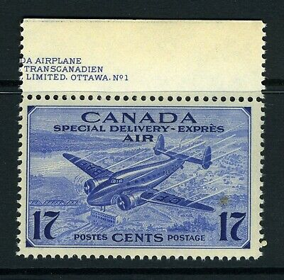 CANADA Scott CE2 - NH - 17¢ Air Mail Special Delivery (.027)