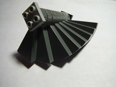 OLD LEGO GRAY SPIRAL STAIR STEPS 40243 LEGO LOT OF 12 LIGHT GRAY