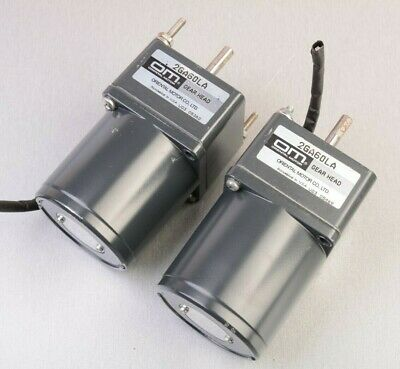 Oriental Motor Electric Motor & Gear Head 2GA60LA (2 pcs)