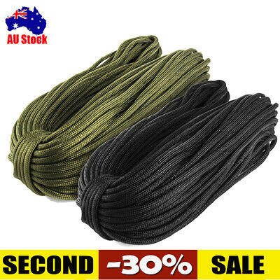 32m 550 Paracord Parachute Cord Lanyard Mil Spec Type III 7 Strand Core Rope RR