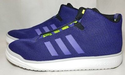 ADIDAS VERITAS MID I Sneakers Blue Black 178348 $39.93