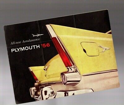 1956 PLYMOUTH BELVEDERE Brochure / Catalog / Pamphlet