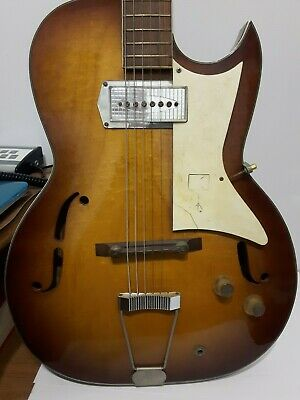 Vintage 1950s or early 1960s Kay Galaxie Barney Kessel Electric Archtop