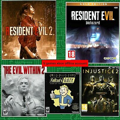 🔥5 games scary pack Xbox one 👻-Offline only🎮(read description)no-cd//no-key
