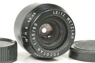 Enlarger lens  Leitz Wetzlar FOCOTAR 50mm / f;4.5
