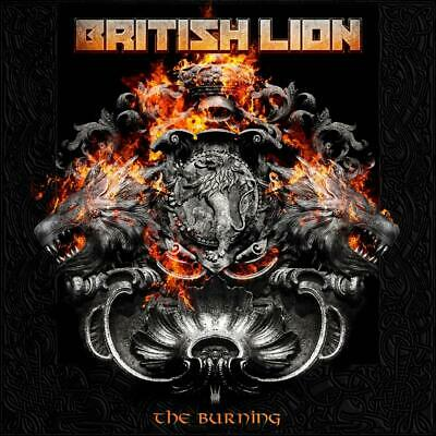 BRITISH LION (Steve Harris / Iron Maiden) 'THE BURNING' CD (2020)
