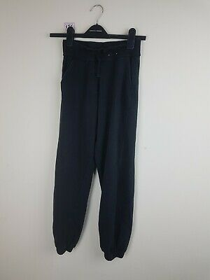 Girls Black Joggers Age 13-14 Years From George