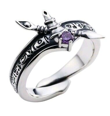 Yu-Gi-Oh! Duel Monsters Dark Magician ring silver 925 ring Authentic Japan