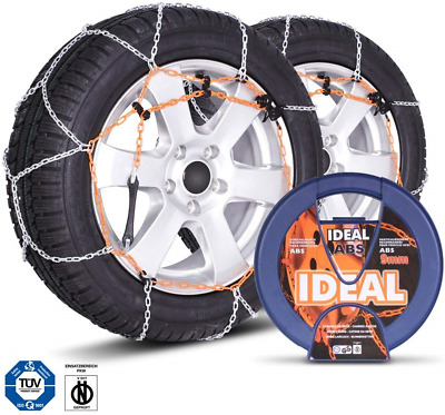205//40 R17 SUMEX Husky Winter Classic Alloy Steel Snow Chains for 17 Car Wheel Tyres