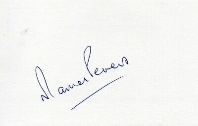 Martin Peters Autograph - World Cup 1966 - Signed 6x4 Card - Handsigned - AFTAL