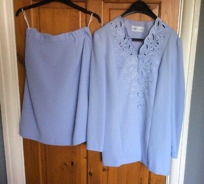 Skirt Suit Lilac by Mark Angelo Size 12 NWOT