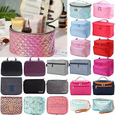 Lady Large Cosmetic Makeup Travel Wash Toiletry Portable Bags Organizer Handbags