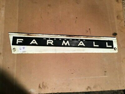 Farmall 656 Diesel tractor  side panel left hand Hood Panel