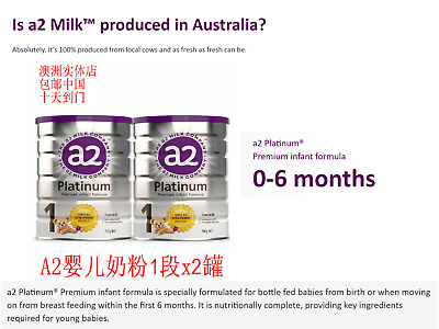 A2 Platinum Premium Follow On Baby Formula Stage 2 From 6 Months Brand New 47 03 Picclick Uk