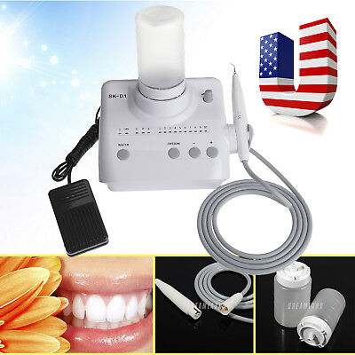 Portable Dental Ultrasonic Piezo Scaler Handpiece 2*Bottles f/ DTE SATELEC D1-dd