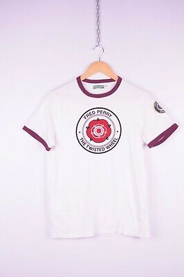 Fred Perry Damen Polo Twisted Wheel Collection Limited Bordeaux G3700 122  5509