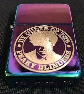 peaky blinders tommy shelby engraved rainbow Star Lighter  Gift ideal present