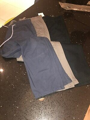 3 X Boys M&S Trousers Age 13-14
