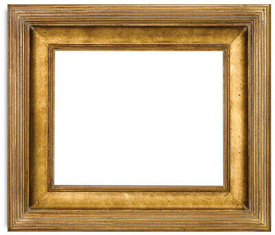 Ornate Black and Gold Wood Picture Frame 9x12 Floater Frame #820 9 x 12