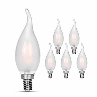 40EFF-130 40W CA10 Frosted Flame-Tip FEIT ELECTRIC
