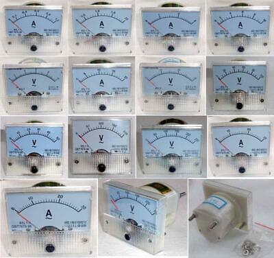 AC 0-300V Analog Panel Voltmeter Volt Voltage Meter Gauge 85L1 Class 2.5 JG