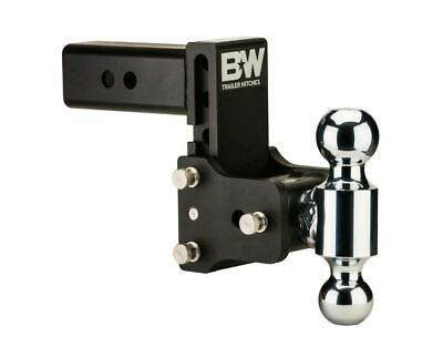 """B&W Tow and Stow Hitch Mount W/ Free Hitch Pin - 2.5"""" SHANK - Dual Ball TS20037B"""