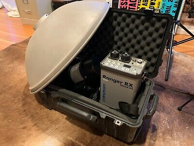 Elinchrom Ranger 1100WS pack with A Flash Head and Travel Case