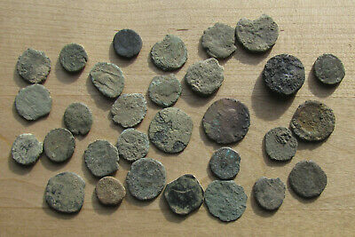 Thirty Cull Roman Bronze Coins
