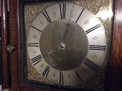 William Greagsbey , Lamberhurst, 30 Hour Long Case Clock, Movement Restored.