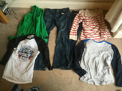 Boys 11-12 years HUGE BUNDLE Clothes Trousers Shirts Jeans Tops  Jacket