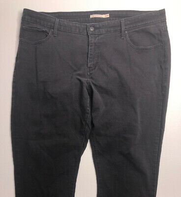 LEVIS 311 SHAPING Ankle Zipper Skinny Jeans Womens Size 14