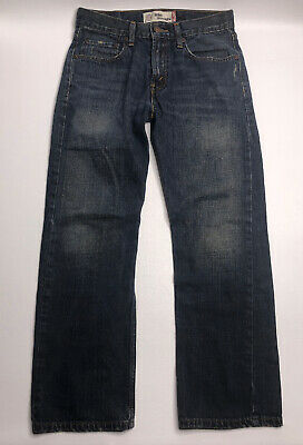 Levis 514 Jeans Straight Leg Mens (28x 28) Red Tab Boys Size 16