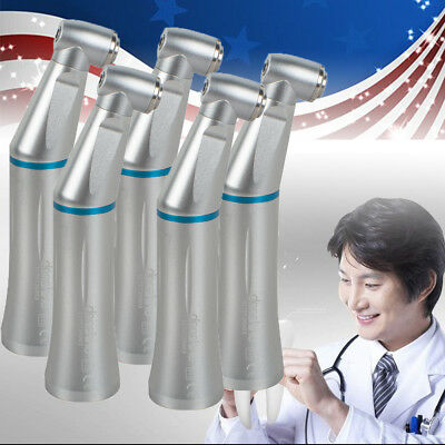 5xContra Angle Handpiece Push Button Dental Inner Water Spray AutoclavableDevice