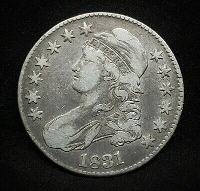 1831 Capped Bust Half Dollar     *Silver*  -Very Good-   *125