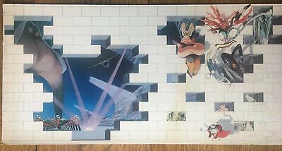 Pink Floyd The Wall Gerald Scarfe Pre Production Slick  1979