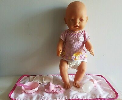 BABY BORN Doll - ZAPF CREATION, Pink Eyes, Clothing & Accessories EASTER Top