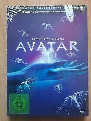 Dvd Film James Camerons Avatar Extended Collectors Edition 3 Discs Filmversionen