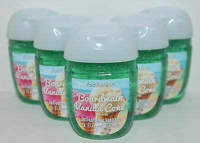 5 Bath&Body Works Boardwalk Vainilla Cono Pocketbac Anti Bac Gel de Manos
