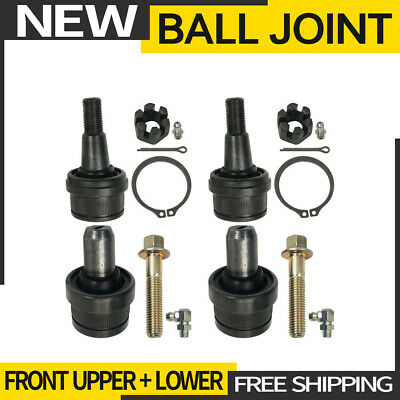 Pair Set of 2 Front Upper Press-in Type Ball Joints Moog K80196 ford E-150