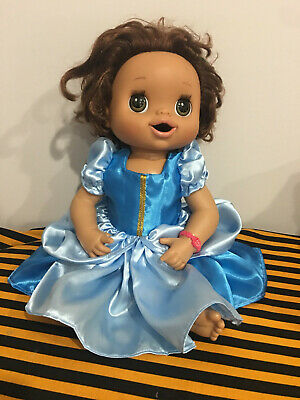 """Fits 15"""" Baby Alive Doll CLothes Princess Cinderella Dress Only Handmade"""