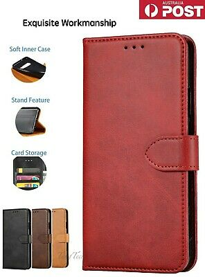 【Genuine Leather】Magnetic Flip Wallet Case Cover for Samsung Note8,9,10+,S8,9,10
