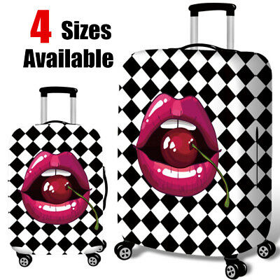 18-32 Inch Tongue Elastic Luggage Cover Travel Suitcase Dustproof Protector
