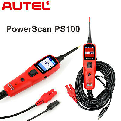 Autel PowerScan PS100 Diagnostic Tool Electrical Circuit System Tester Test Lead