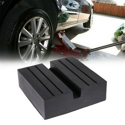 DIY Car Rubber Slotted Pad Lifting Jack Support Block Adapter Protect Accessory
