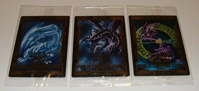 Japanese Yu-Gi-Oh, Field Center Card 3 Cards Set LGB1 Gold Box Factory Sealed