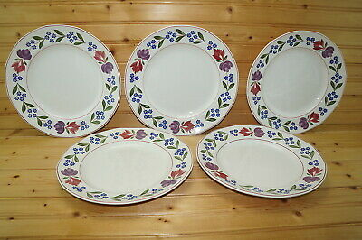 Adams Old Colonial (5) Dinner Plates, 10 1/4""
