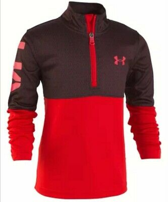 Under Armour Little Boys Razor 1/4-Zip Shirt - Size 4 - New With Tags