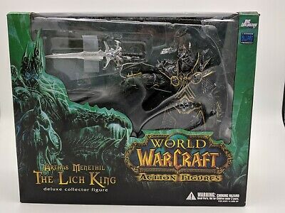 Wow Deluxe Collector Figure The Lich King Arthas Menethil