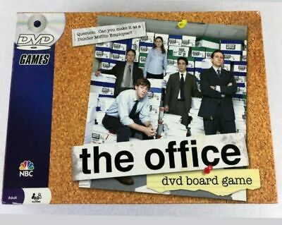 New THE OFFICE Trivia DVD Board Game Pressman 2008 Factory SEALED Dunder Mifflin