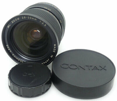 Yashica ML Zoom 28-50mm F3.5 Lens For Contax C/Y Mount